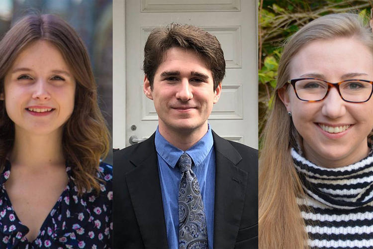 D'Angelo, Hoffmeyer and Reed winners of Rhodes Scholarships