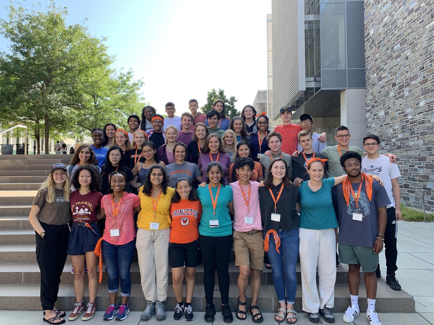 Photo of 2019-20 Bridge Year cohort