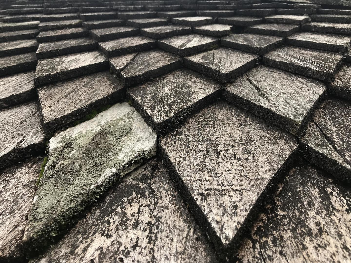 Photo of the roof of an ancient Surakarta temple