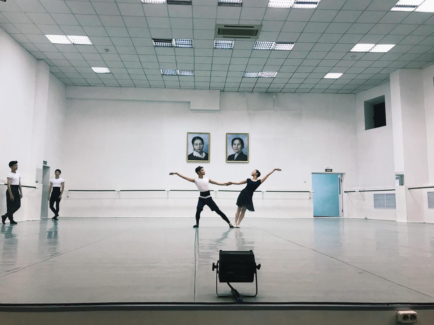 Photo of people doing ballet