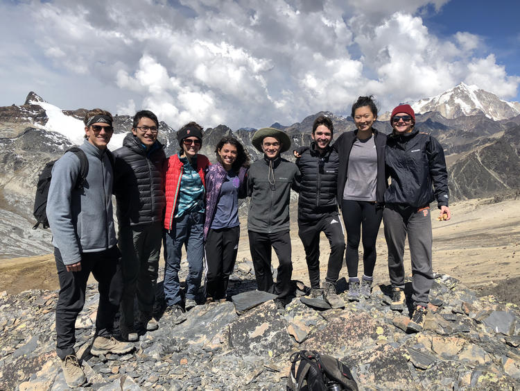 Bridge Year Group in Bolivia